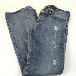 Seven7 Jeans - Seven7 Womens Jeans Size 31 Bootcut Light Wash